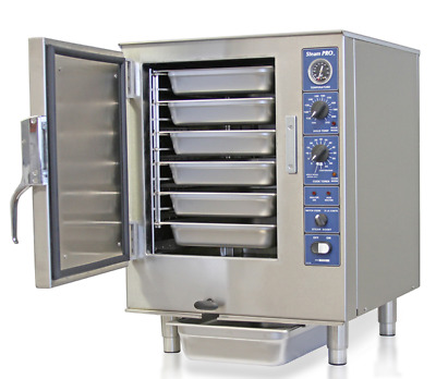 6 Pan Commercial Convection Steamer