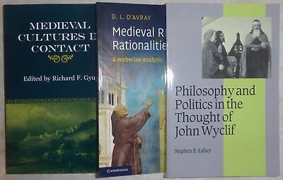 Lot #24 - THREE books - Medieval Middle Ages Religion Philosophy John Wyclif