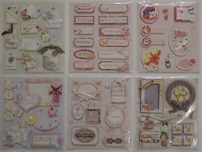 Hobby & Crafting Embellishments (Choice of 6)
