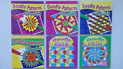 Doodle Patterns Colouring Book for all Ages (Choice of 4)
