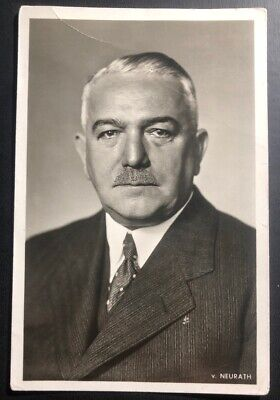 Mint Germany Real Picture Postcard RPPC Foreign Minister Of Germany Portrait