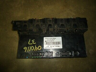 00-06 MERCEDES W220 S500 AMG Rear Right SAM Relay Fuse Box