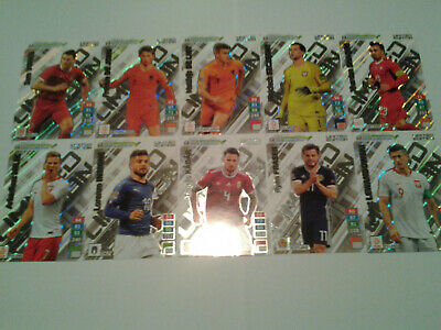 Panini Adrenalyn XL Road to Euro 2020 Rare Limited Edition Cards