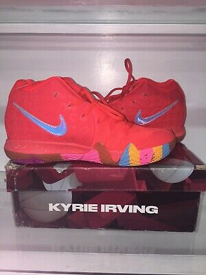 pretty nice 299ee 259e9 NIKE KYRIE IRVING 4EP Collab Lucky Charms General Mills Sz 9.5 New Unworn  In Box