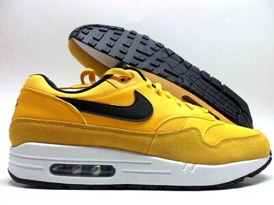 the latest 18cc6 e1760 Nike Air Max 1 Premium University Gold White-Black Size Men s 13  Bv1254