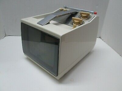 SONY TV-790 Vintage Portable Black and White Television with Digital Converter