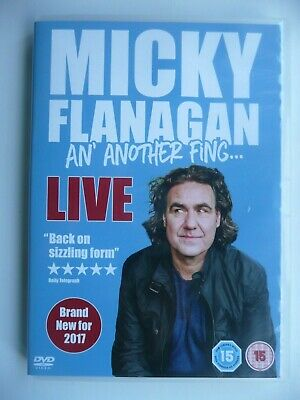 Micky Flanagan - The Live Collection (DVD, 2013, 2-Disc Box Set) New and Sealed