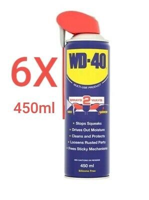 WD40  Smart Straw 450ml - PACK OF 6  PLUS FREE DELIVERY