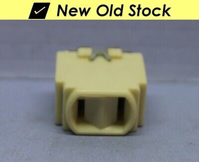 Vintage Despard Interchangeable 2-Prong Ivory Outlet Receptacle - P&S - New