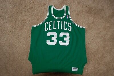 save off bfe49 f2356 VTG Larry BIRD Boston CELTICS MacGregor SANDKNIT Jersey NBA AUTHENTIC