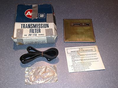 GM AC Delco 1962 – 1972 Automatic Transmission Filter NOS Part # PF172
