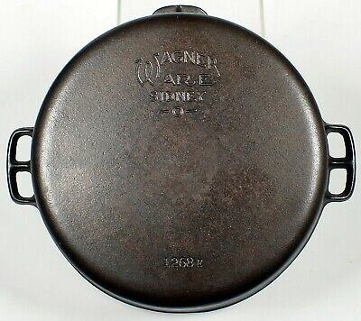 Wagner Ware Sidney number 8 Dutch oven cast iron old American cookware vintage