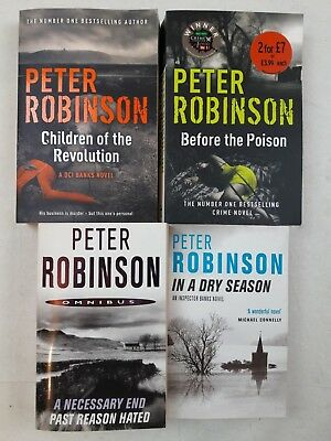 Peter Robinson Collection - 4 Books Set