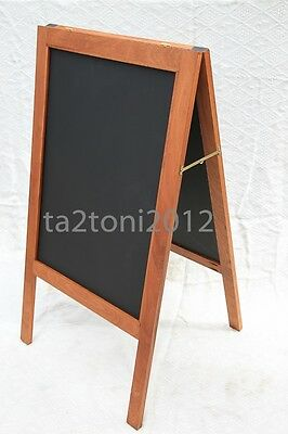 A Board Sapele Pavement Display Frame Blackboards Chalk Advertisment Chalkboards