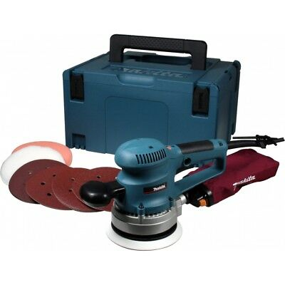 Makita BO6030JX1 150mm 240v Random Orbital Sander in Makpac Case