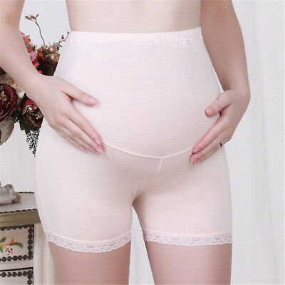 Pregnant Women Adjustable Safety Shorts Maternity Insurance Pants Leggings  fd