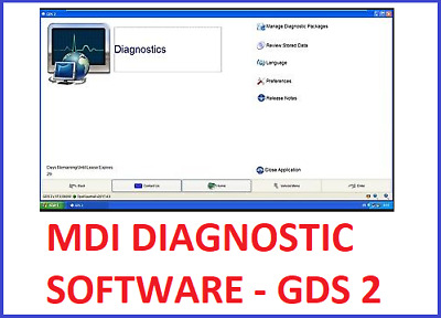 MDI Diagnostic Software GDS2 v.17.0.08000 v20170.05.0 GM VAUXHALL / OPEL