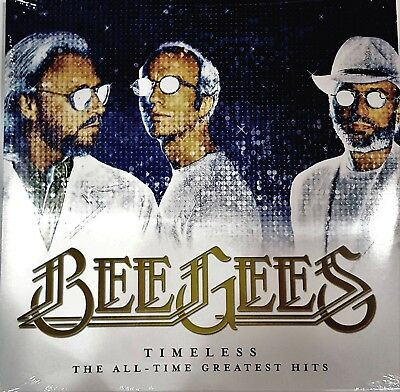 Bee Gees Timeless The All Time Greatest Hits 2017 Double Vinyl 33 rpm NEW 2 LPs
