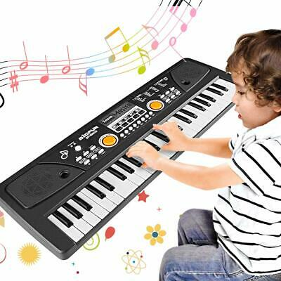 WOSTOO Kids Piano Keyboard,49 Keys Multi-Function Electronic Kids Piano Toy FAST