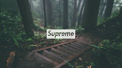 supreme wood landscape canvas wall art Wood Framed Ready to Hang XXL supreme