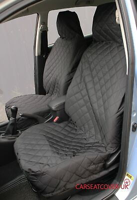 DACIA Logan MCV FRONT PAIR of Luxury QUILTED Protectors Car Seat Covers