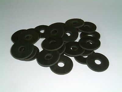 """Rubber Washers 7/8"""" O/D X 1/4"""" I/D X 1/16"""" Thk, various quantities"""