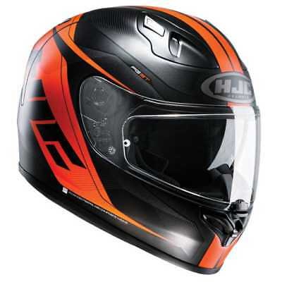 HJC FG ST Crono Motorcycle Motorbike Full Face Helmet - Black / Orange NEW