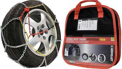 "Chaines Neige - Snow Chains CARPOINT KNN 40 - 13"" à 15"" NEUVES"