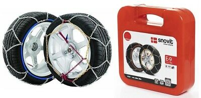 "Chaines Neige - Snow Chains JOPE E9 - N°80 - 14"" à 18"" NEUVES"