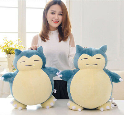 Hot Anime Pokemon Snorlax Plush Toys Pillow Cushion Kids Xmas Gift Doll 30/50CM
