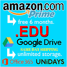 How Amazon Prime 6-Month, Unlimited Prime Video, Google Drive Unlimited 8h