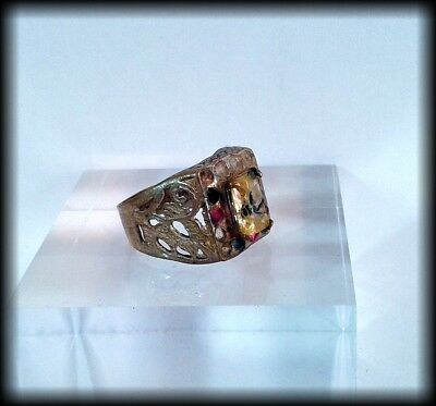 Antique Near Eastern Ring with Gemstones