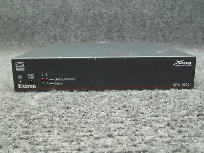 Extron XPA 1002 Xtra Low and High Impedance 2-Channel Power Amplifier