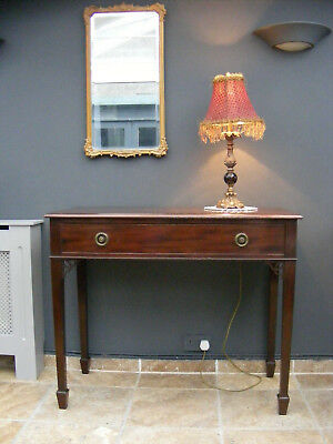 Antique edwardian sideboard / sofa / side / hall table  / dressing table