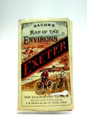 Bacon's Map of the Environs of Exeter (G.W. Bacon and Co) (ID:36369)