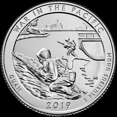 2019 P,D,S War in the Pacific National Historical Park Guam 3 Quarter (Presale)