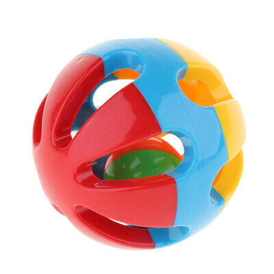 Baby Rattles Funny Toys Intelligence Plastic Hand Bell Educational Gift A
