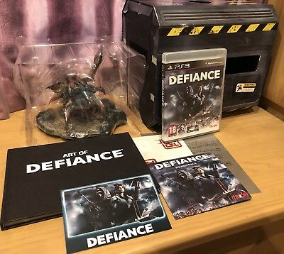 Defiance Ultimate Collectors Edition, PS3 Sony Playstation 3, Hellbug Statue