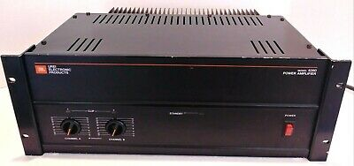 JBL UREI Electronic Products Model 6260 Power Amplifier Tested
