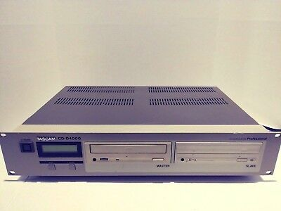 Tascam CD-D4000 Compact Disc Duplicator Tested