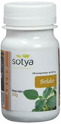 Boldo 100 Comprimidos 500 Mg. Sotya  -  So3135