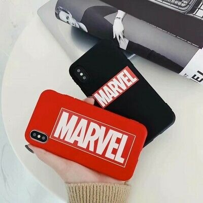 Shockproof Soft Candy TPU Marvel Phone Case Cover For iPhone 6 7 8 XR 11 Pro Max