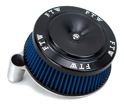 Raw Sucker High Flow Air Cleaner Intake Filter HD FTW Cover Kit Harley Big Twin