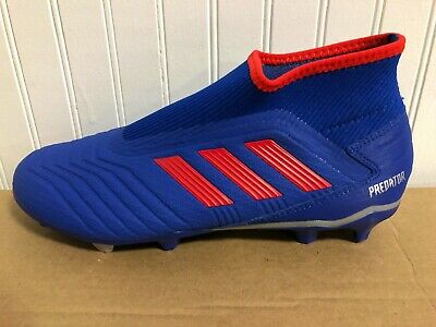 44f895bc3 New Mens Adidas Predator 19.3 Laceless Fg Soccer Cleats F99731-Multiple  Sizes