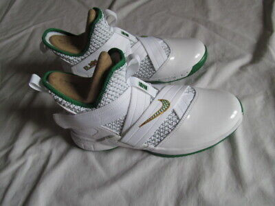 88cb1c9eeb679 NIKE LEBRON SOLDIER XII GS AA1352 100 big boys white/green shoes Brand New