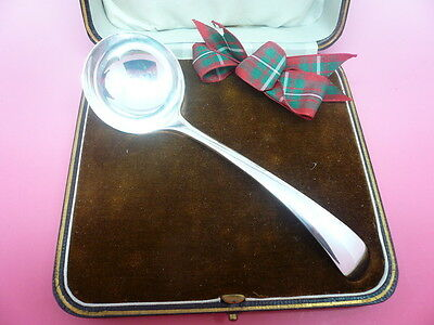 Silver Toddy Ladle, Sauce, Sterling, English, Hallmarked 1940 Walker & Hall