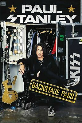 KISS PAUL STANLEY Backstage Pass Signed Book autographed sold out KISS