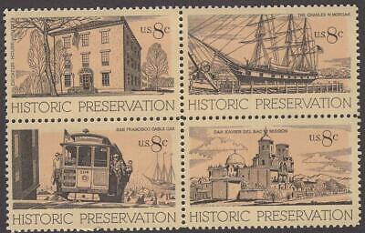Scott # 1440-1443 - US Block Of Four - Historic Preservation - MNH - 1971
