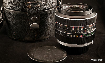 Vivitar 35mm f/2.8 wide angle lens, T4 mount, case, excellent used condition