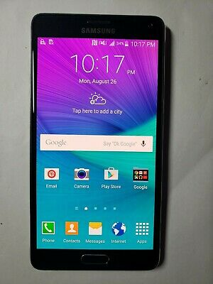 ROOTED,SAMSUNG GALAXY NOTE 4 32GB SM-N910T GSM Unlocked GSM 4G LTE
